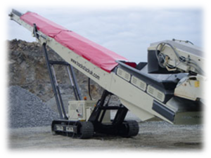 Radio Remote Control for Conveyor in Mining Equipment